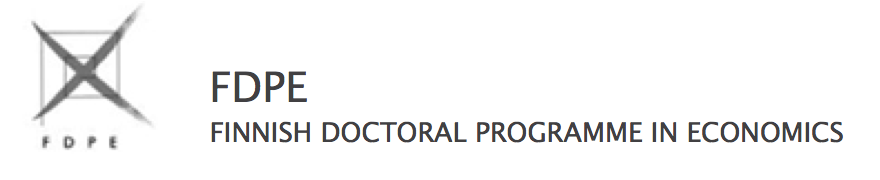 Finnish Doctoral Programme in Economics - FDPE